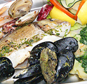 Mixed seafood platter